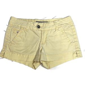 BKE Casual Mollie Light Yellow Shorts W28